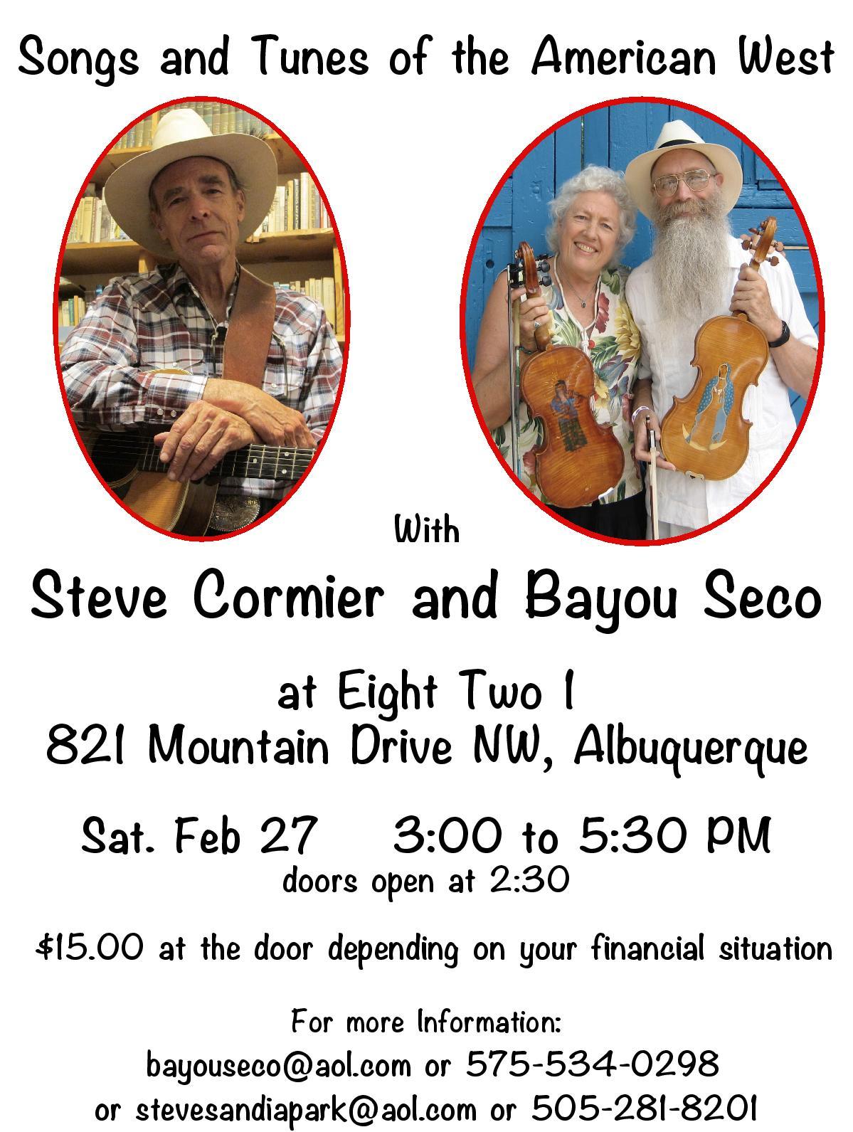 BS Cormier Concert