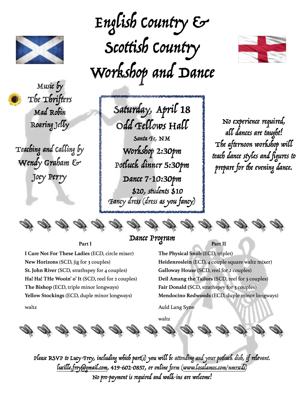 English Scottish WorkshopDance