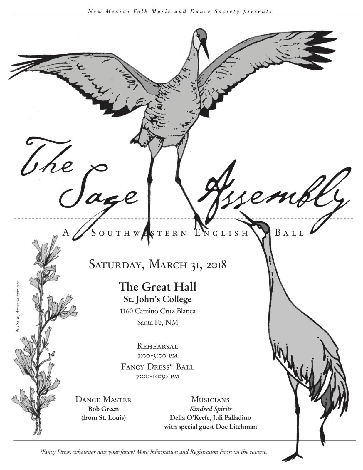 2018 Sage Assembly Flyer