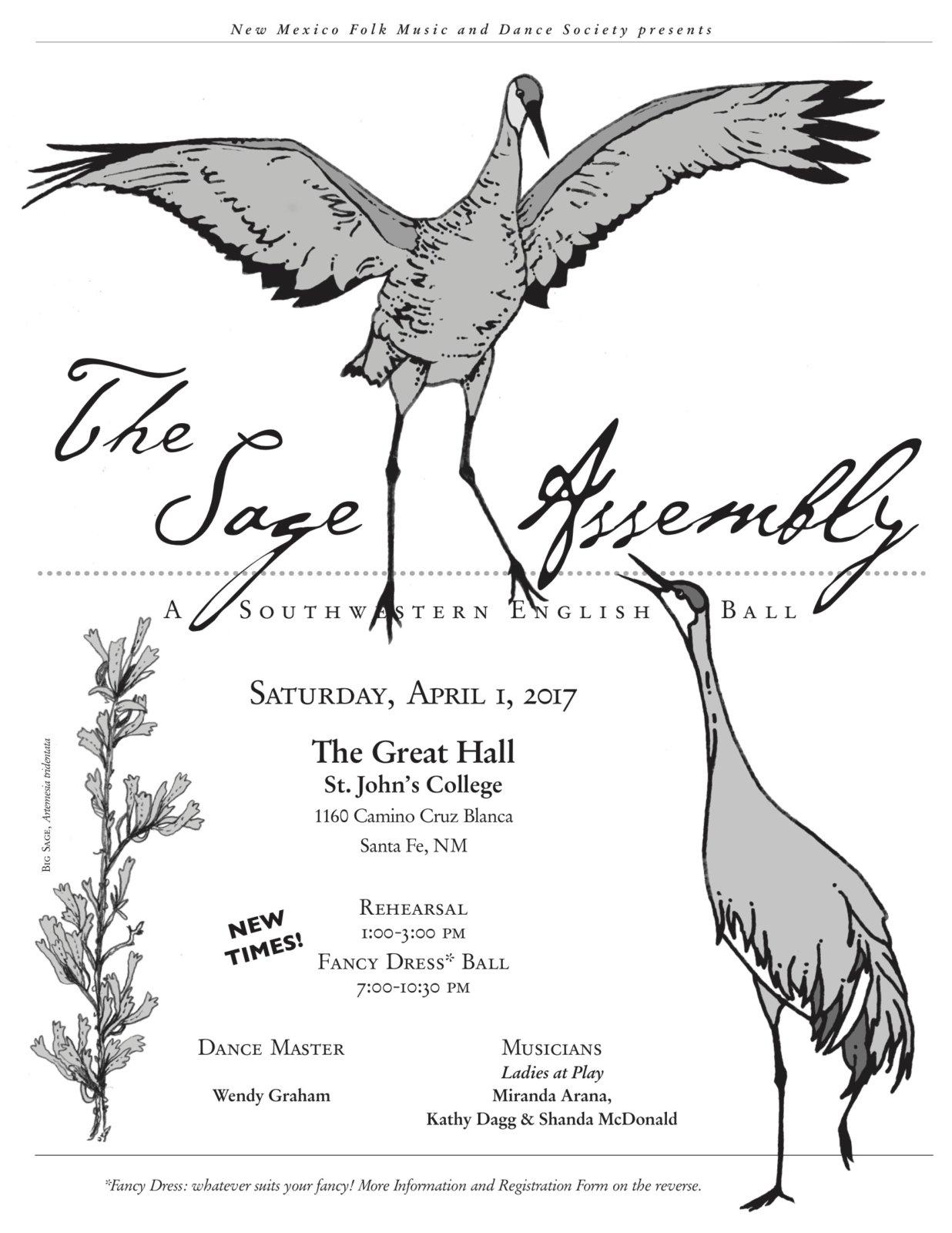 Sage Assembly Flyer