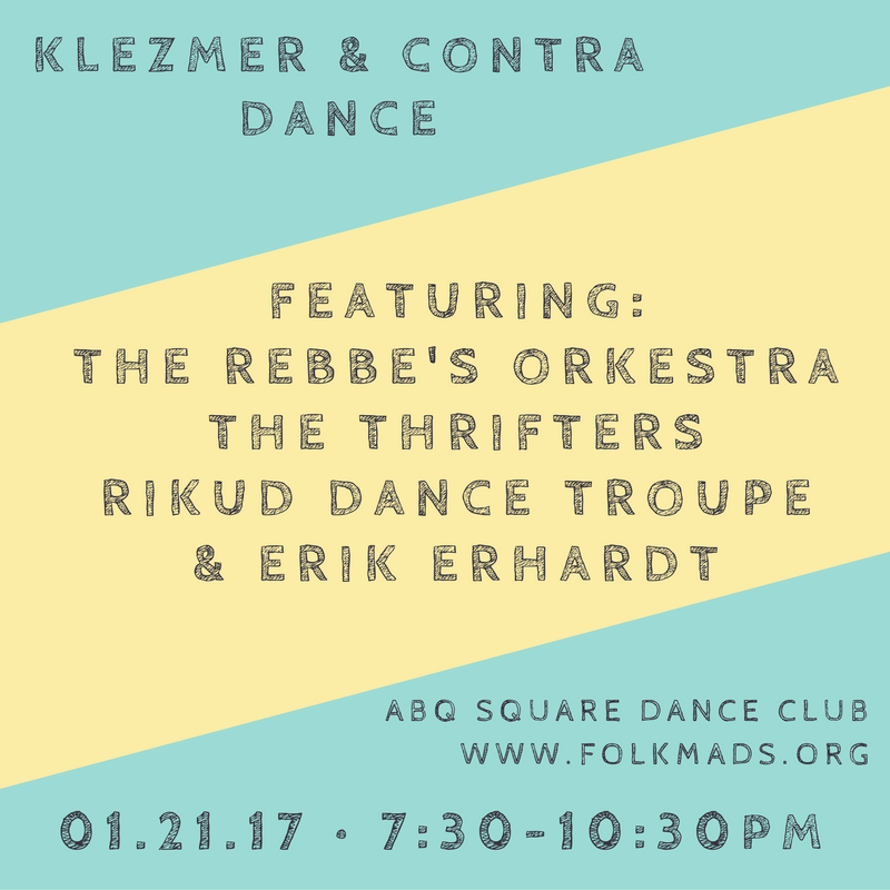 KLEZMER & CONTRA DANCE
